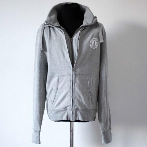 Fairtrade Unisex Double Zip Jacket Grey