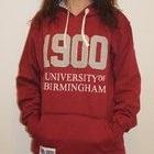 University of Birmingham Claret 1900 Hoody